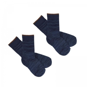 2 PACK SOCKS logo