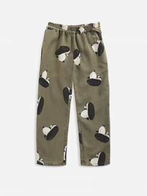 DOGGIE ALL OVER WOVEN PANTS logo
